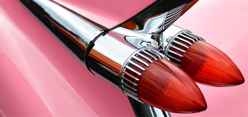 rear headlight cluster of a 1959 Cadillac Eldorado