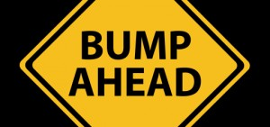 Bump ahead image