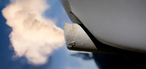 smoke coming out of exhaust