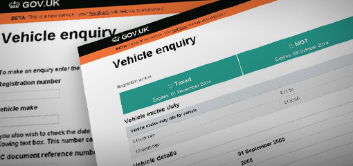 Vehicle enquiry gov uk