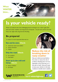 is your vehicle ready