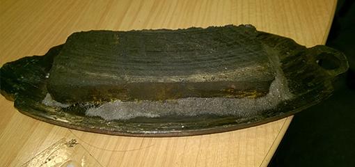 wooden brake pad