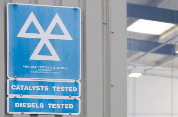 Vehicle Testing Centre Logo