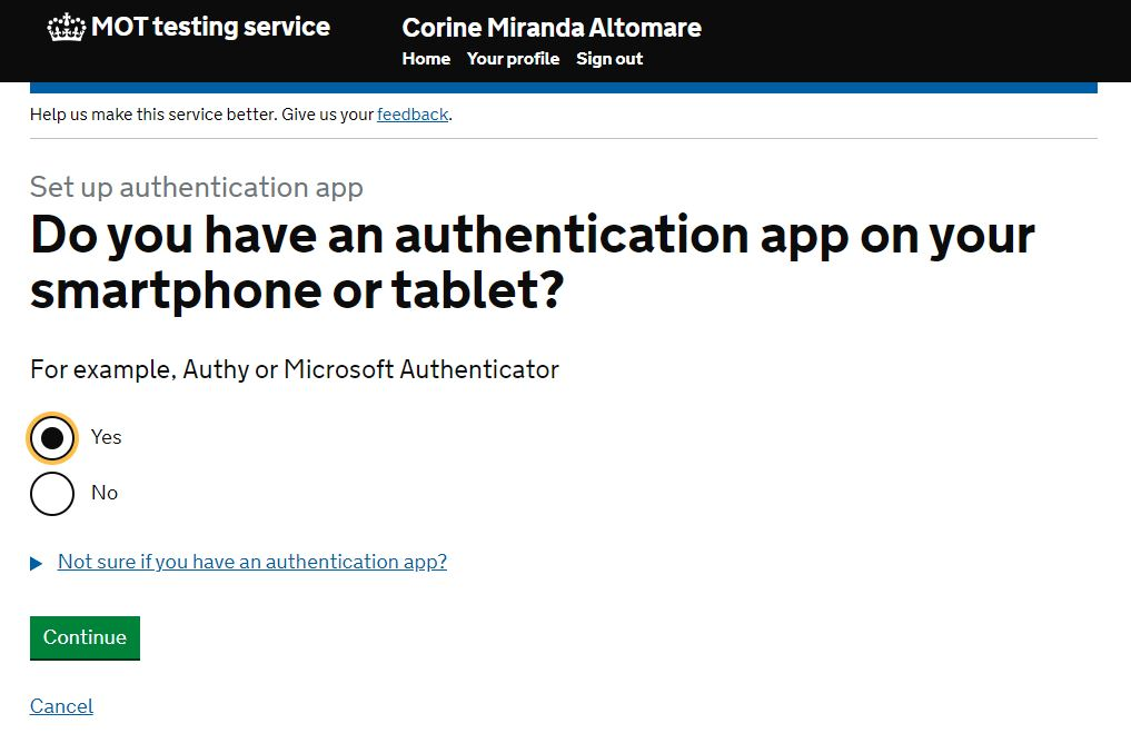 Do you have an authentication app on your smartphone image