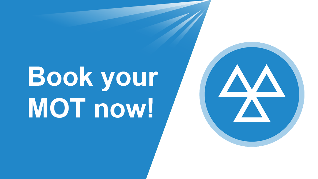 Book your MOT now image