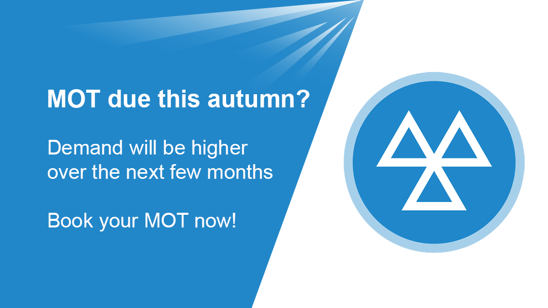 Demand for MOTs will be higher this autumn